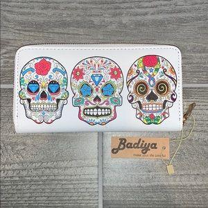 Calvera Sugar Skull Wallet